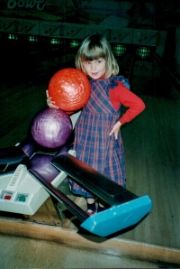 A ten pin girl since primary school