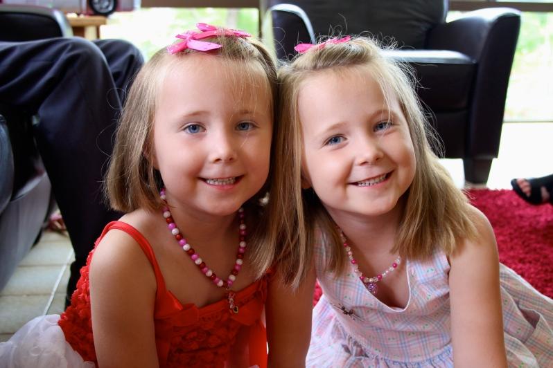 Emily Victoria and Miranda Grace