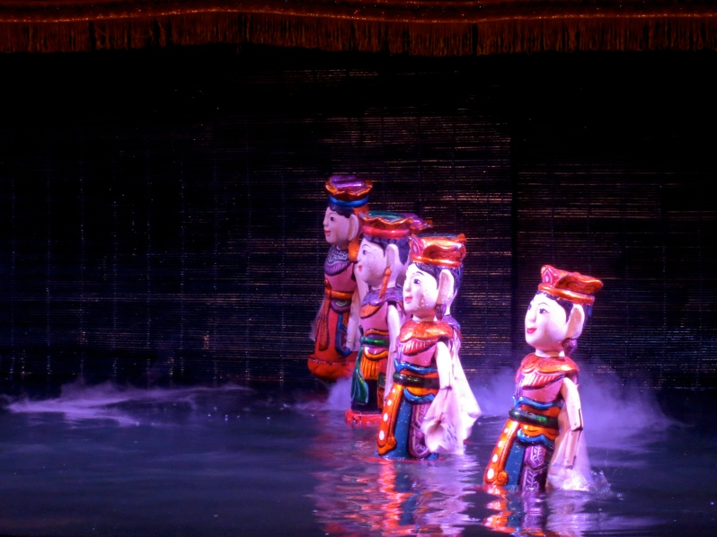Water puppets