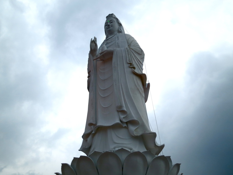 Da Nang Lady Buddha, who soared 67m into the sky