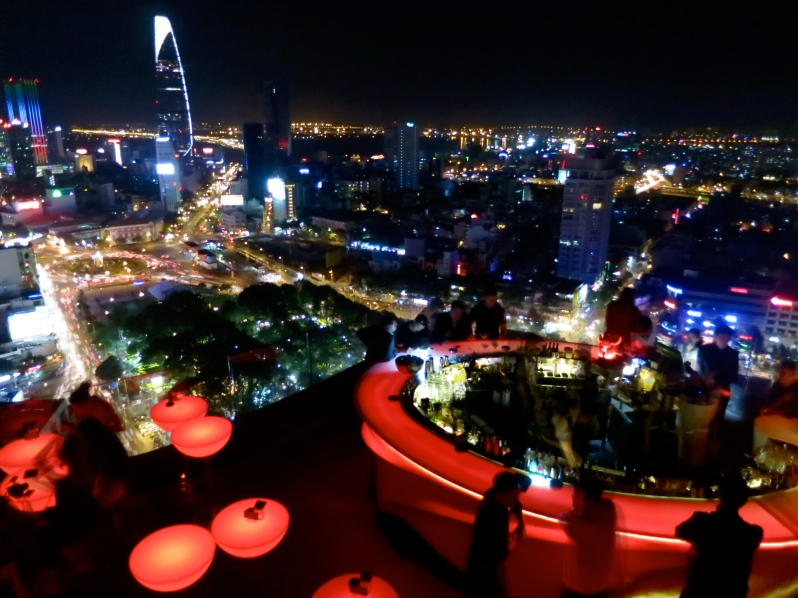 Chill Skybar at the AB Tower - Ho Chi Minh