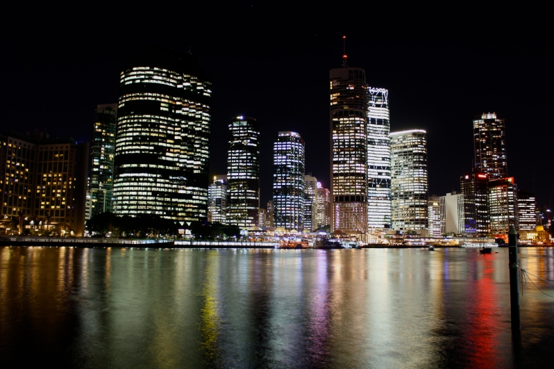 The Brisbane river and long exposure 1
