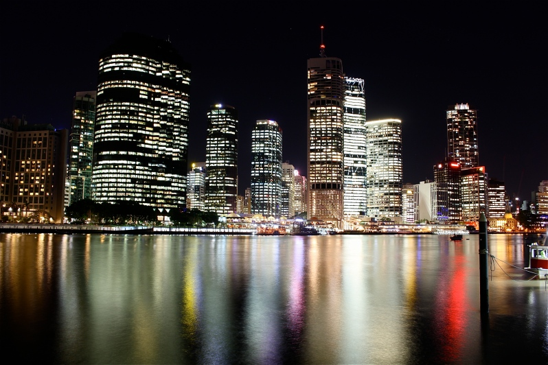 The Brisbane river and long exposure 3