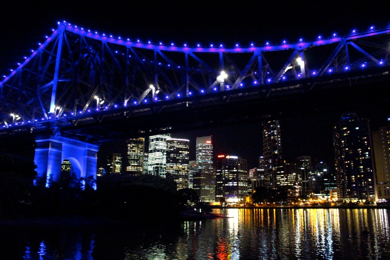 The Story Bridge and the city 2