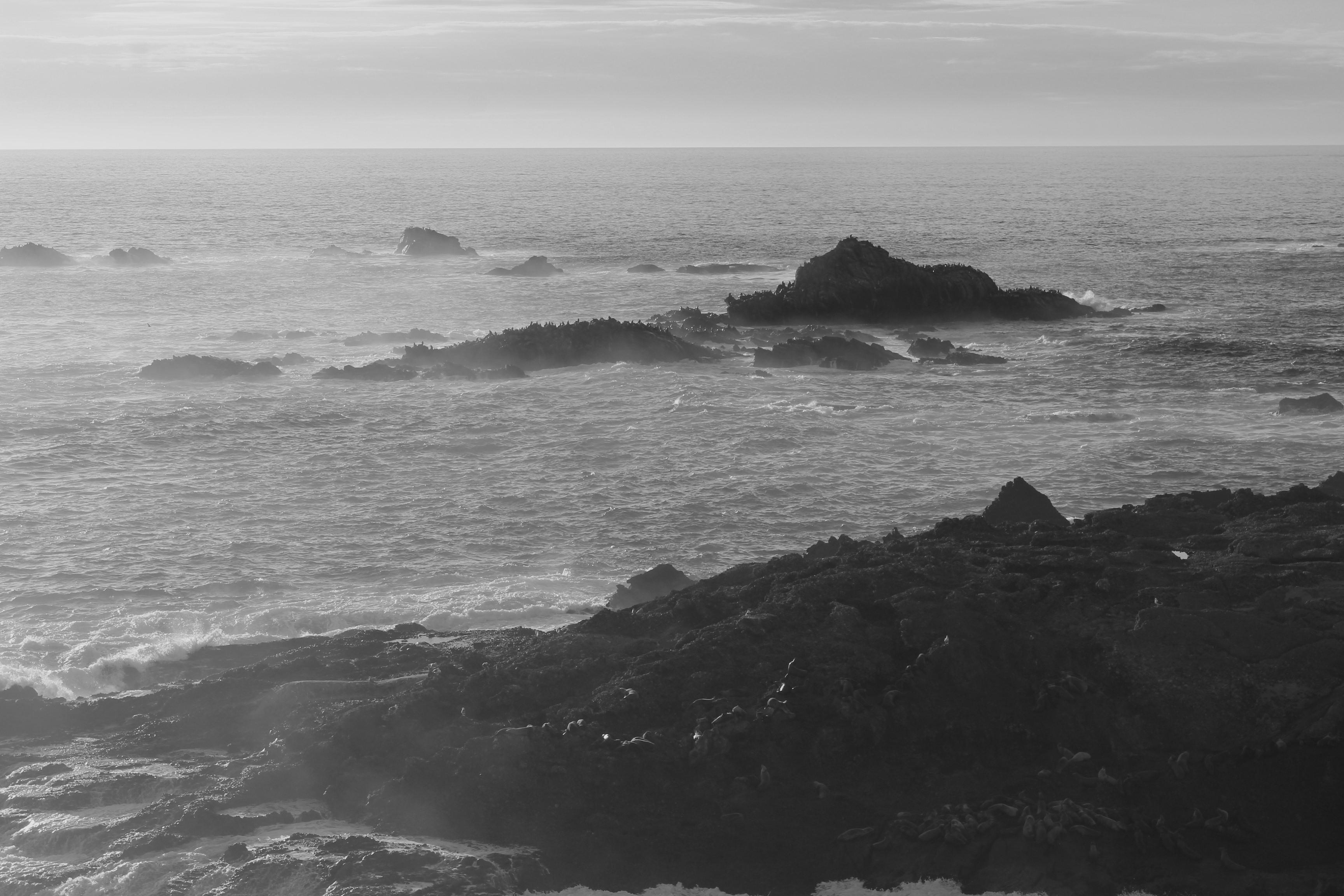 Big Sur Coastline Sunset - Ragged Point