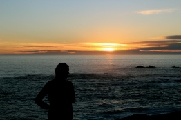 Big Sur Coastline Sunset - Ragged Point