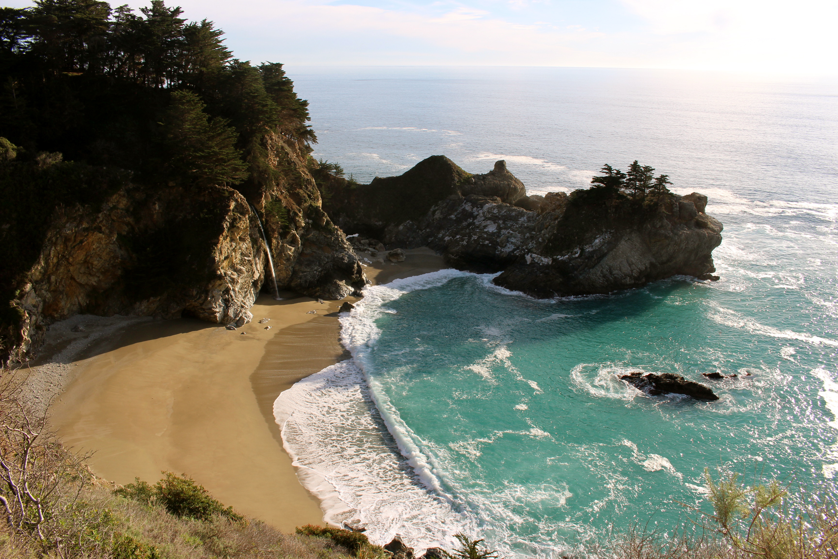Julia Pfeiffer Burns State Park Beach - McWay Falls