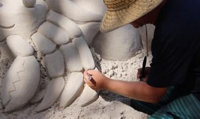 Steve Matchell, sand scultpor