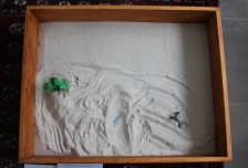 My sand play therapy artwork.